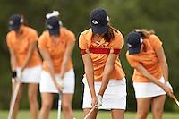 SAN ANTONIO, TX - SEPTEMBER 16, 2013: The UTSA Golf Team at Briggs Ranch Golf Club. (Photo by Jeff Huehn)