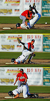 How Not To Slide.... but he was safe.