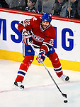 9 January 2010: Montreal Canadiens' defenseman Paul Mara in action against the New Jersey Devils at the Bell Centre in Montreal, Quebec, Canada. The Devils edged out the Canadiens 2-1 in overtime. Mandatory Credit: Ed Wolfstein Photo
