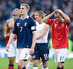 Darren Fletcher and Steven Fletcher gutted at the end