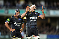 Tom Ellis of Bath Rugby. European Rugby Champions Cup match, between Bath Rugby and RC Toulon on January 23, 2016 at the Recreation Ground in Bath, England. Photo by: Patrick Khachfe / Onside Images