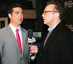 Jesse Watters and Tom Arnold  at FOX Sports 1 celebrates the official Thursday Night Super Bash at Time Warner Cable Studios. Hosts MichaelStrahanand Erin Andrews Superbowl week, NY