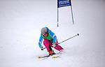 Challenge Mer et Montagne 2012, Saint Gervais les Bains, Mont Blanc, Haute Savoie, France..Ski Super Geant..Julie Duvillard