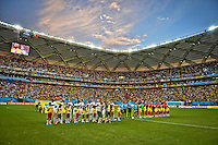 Manaus, Brazil - Sunday, June 22, 2014: The US Men's National team and the National team of Portugal played to 2-2 draw during group play at Arena Amazônia.