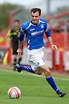St Johnstone... season 2011-12.David Robertson.Picture by Graeme Hart..Copyright Perthshire Picture Agency.Tel: 01738 623350  Mobile: 07990 594431