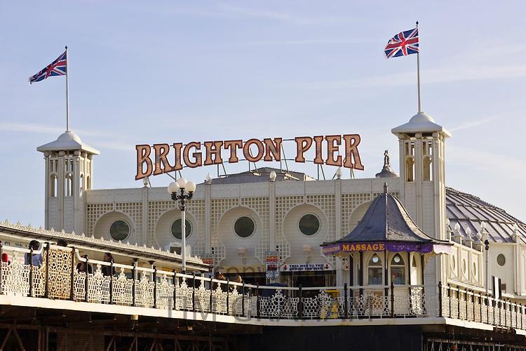 Brighton Pier, England, United Kingdom