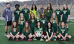 4-28-15, Huron High School girl's JV soccer team