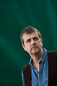 Mark Billingham, comedian and crime writer, at the Edinburgh International Book Festival, Edinburgh, Scotland on Wednesday 26th August 2009. This year is the 26th Edinburgh Book Festival in the city designated by UNESCO as the first City of Literature.