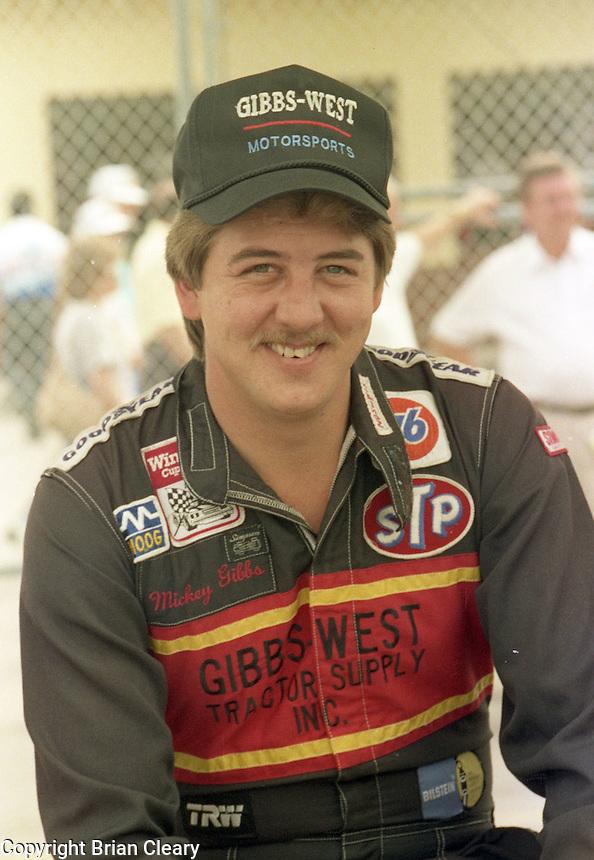 Mickey Gibbs Daytona 500 at Daytona International Speedway on February 19, 1989.  (Photo by Brian Cleary/www.bcpix.xom)