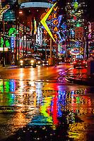 USA-Nevada-Las Vegas-Downtown Las Vegas