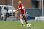 24 August 2014: Ohio State's Emma Wangsness. The University of North Carolina Tar Heels hosted the Ohio State University Buckeyes at Fetzer Field in Chapel Hill, NC in a 2014 NCAA Division I Women's Soccer match. UNC won the game 1-0.