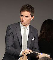 NEW YORK, NY November 09: Eddie Redmayne at Apple presents Meet the Cast of Fantastic Beasts and Where to Find Them at Apple Soho  in New York .November 09, 2016. Credit:RW/MediaPunch