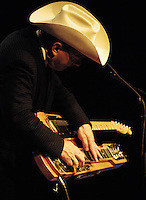 Junior Brown plays Higher Ground in South Burlington, Vermont.