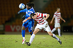 St Johnstone v Hamilton Accies....02.02.11  .Collin Samuel and Martin Canning.Picture by Graeme Hart..Copyright Perthshire Picture Agency.Tel: 01738 623350  Mobile: 07990 594431