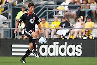 26 JUNE 2010:  Devon McTavish #18 of DC United during MLS soccer game between DC United vs Columbus Crew at Crew Stadium in Columbus, Ohio on May 29, 2010. The Crew defeated DC United 2-0.