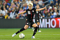 USWNT midfielder Megan Rapinoe (15) in action.