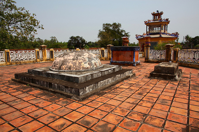 Tomb of Emperor Quang Trung. Tay Son District, Vietnam. April 27, 2016.