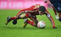 FUSSBALL   1. BUNDESLIGA  SAISON 2012/2013   27. Spieltag   FC Bayern Muenchen - Hamburger SV    30.03.2013 Thomas Mueller (FC Bayern Muenchen) am Ball