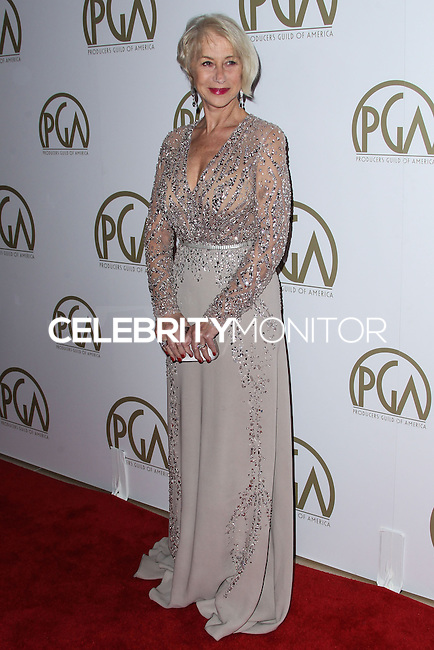 BEVERLY HILLS, CA - JANUARY 19: Helen Mirren at the 25th Annual Producers Guild Awards held at The Beverly Hilton Hotel on January 19, 2014 in Beverly Hills, California. (Photo by Xavier Collin/Celebrity Monitor)