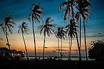 Sunset in Omadal Island
