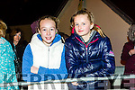 Enjoying the KNOCKNAGOSHEL Halloween festival on Sunday were Kate Kerins and Grace O'Connor from Tralee