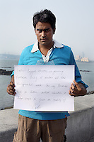 Pradeep Rao - 26 yrs.Bombay.Hindu.Engineer in Merchant Navy.'India's biggest concern is growing population bcoz it undoes all the developmental work. One way towards that is better initial education, it helps people to focus on quality of life'.