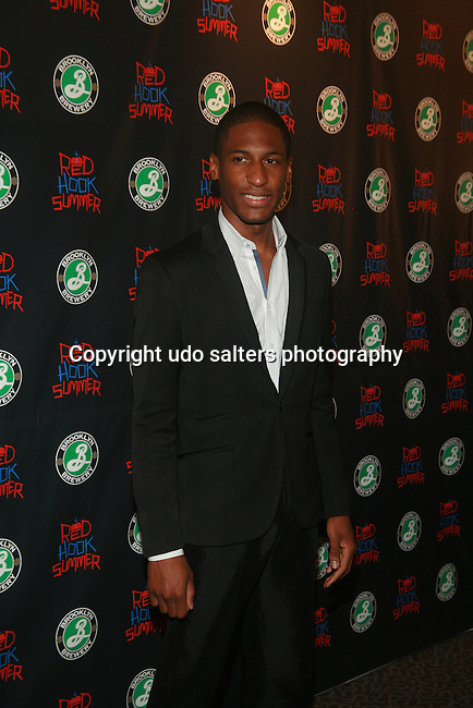 Jonathan Batiste Attends New York City Red Carpet Premiere of the new Spike Lee Joint RED HOOK SUMMER, NY D. Salters/WENN 8/6/12