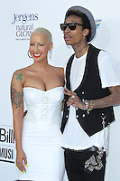 LAS VEGAS - MAY 20:  Amber Rose, Whiz Khalifa arrives at the 2012 Billboard Awards at MGM Garden Arena on May 20, 2012 in Las Vegas, NV