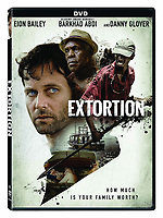 Extortion (2017) <br /> DVD COVER ART<br /> *Filmstill - Editorial Use Only*<br /> CAP/FB<br /> Image supplied by Capital Pictures