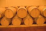 Chile Wine Country: Barrels at Concha y Toro Winery, near Santiago..Photo #: ch474-32916..Photo copyright Lee Foster, 510-549-2202, www.fostertravel.com, lee@fostertravel.com.