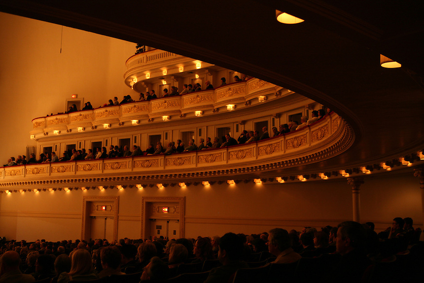 """Orpheus Chamber Orchestra, """"The New Brandenburgs"""" during the Spring for Music festival at Carnegie Hall in Manhattan, New York on May 06, 2011. ."""