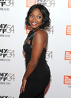 NEW YORK, NY - SEPTEMBER 30: Naturi Naughton  attends the 54th New York Film Festival opening night gala presentation and '13th' world premiere at Alice Tully Hall at Lincoln Center on September 30, 2016 in New York City.  Photo Credit: John Palmer/MediaPunch