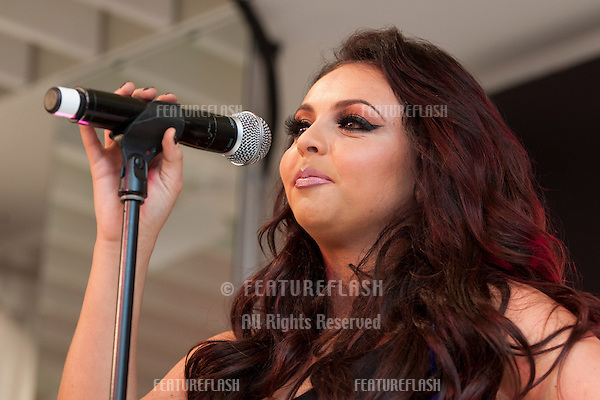 Jesy Nelson from Little Mix at the Bershka Flagship Store Launch Party, Oxford Street, London. 14/11/2012 Picture by: Simon Burchell / Featureflash.
