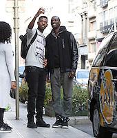 """Omar Sy dans """" Hep Taxi """" à Bruxelles - EXCLUSIF"""