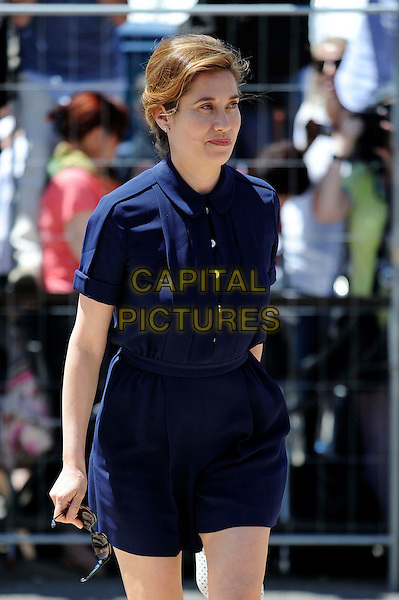 Emmanuelle Devos.The Cannes Jury for 2012 at the 65th Cannes Film Festival, France..16th May 2012.half length blue dress.CAP/CAS.©Bob Cass/Capital Pictures.