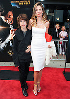 NEW YORK CITY, NY, USA - JULY 21: Lucas Jagger, Luciana Gimenez at the New York Premiere Of 'Get On Up' held at The Apollo Theater on July 21, 2014 in New York City, New York, United States. (Photo by Celebrity Monitor)