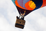Hot air balloons dot the skies at the 2008 Shenandoah Valley Hot Air Balloon Festival at Historic Long Branch in Millwood, Virginia.