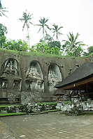 Gunung Kawi, the magnificent and mysterious 11th century temple and funerary complex in Tampaksiring, Bali.