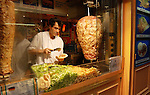 Take away kebabs, the Latin quarter Paris.