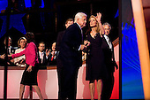 Denver, Colorado<br /> August 25, 2008<br /> <br /> The opening day of the Democratic National Convention in the Pepsi Center. Sen. Edward M. Kennedy, with his wife, Victoria,  and Caroline Kennedy, acknowledges the cheers of the delegates and convention-goers.