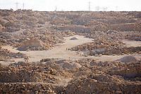 Bedouin woamn make their way to Mitspe Ramon. Photo by Oren Nahshon