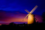 National Trust. Bembridge Windmill. Light Painting Photographs of the Isle of Wight by photographer Patrick Eden