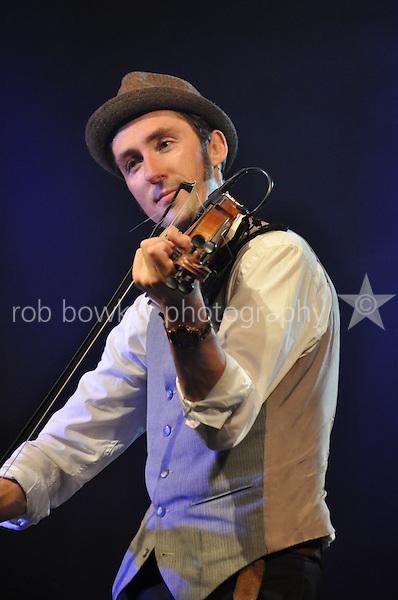 Wallingford Bunkfest 2013. Friday evening. Gordie MacKeeman and His Rhythm Boys. Photo © Rob Bowker