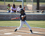 The Mariners' Tracy Harris vs. the Twins in Oxford Park Commission baseball action at FNC Park in Oxford, Miss. on Thursday, May 3, 2012.