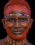 Samburu Tribesman, Kenya