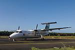 Alotau, Milne Bay, Papua New Guinea; Gurney Airport Milne Bay, Air Niugini airplane bound for Port Moresby, capital city of Papua New Guinea , Copyright © Matthew Meier, matthewmeierphoto.com