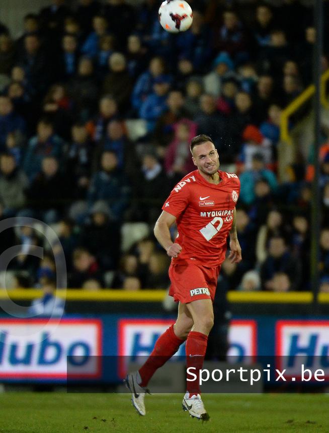 Club Brugge KV - KV Kortrijk : Maxime Chanot <br /> foto VDB / BART VANDENBROUCKE