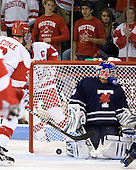 Charlie Coyle (BU - 3), Joe Pereira (BU - 6), Andrew Martin (Toronto - 30) - The Boston University Terriers defeated the visiting University of Toronto Varsity Blues 9-3 on Saturday, October 2, 2010, at Agganis Arena in Boston, MA.