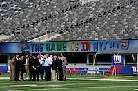 FIFA Inspection New Meadowlands Stadium September 07 2010