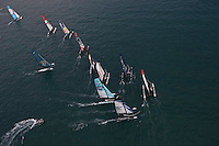 15th October 2011. Extreme Sailing Series 2011 - Act 8. Almeria. Spain..